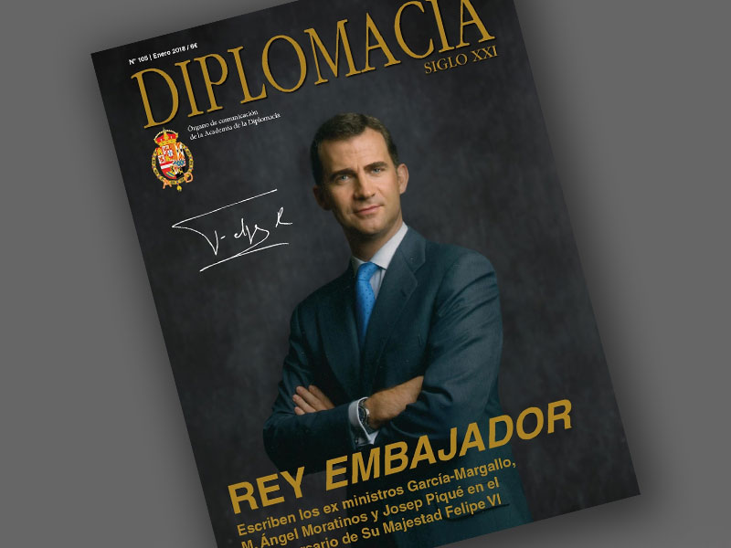 Reportaje en la Revista DIPLOMACIA