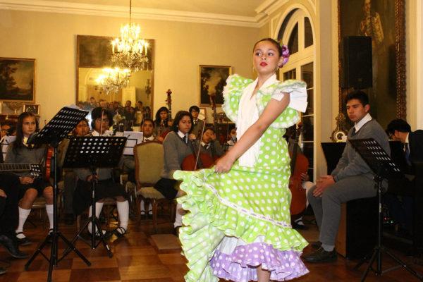 Alumna Grupo Baile, Colegio María Reina, Reñaca Alto.