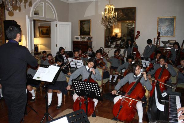 Orquesta Juvenil, Colegio María Reina, Reñaca Alto.