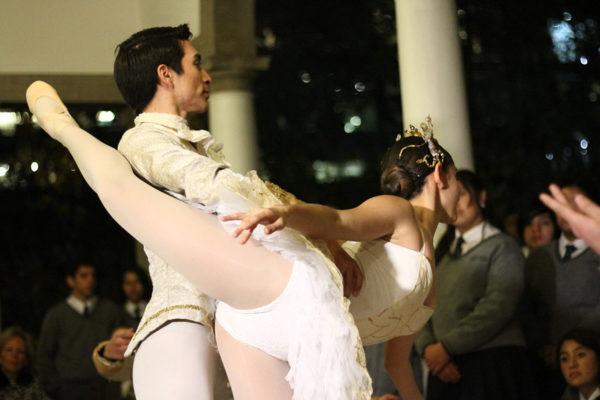 Becados Ballet Municipal de Santiago.