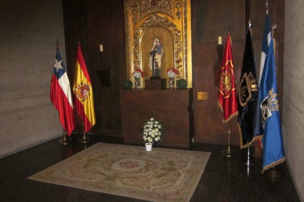 Altar de Chile (Ntra. Sra. del Carmen – Patrona de Chile)