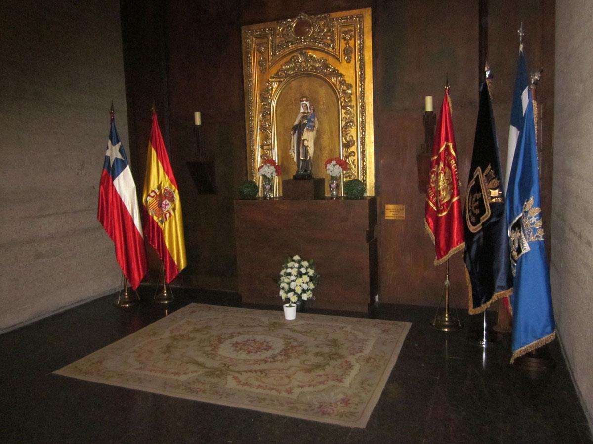Inauguración Oficial Altar de Chile – Parroquia Hispanoamericana de la Merced – Madrid