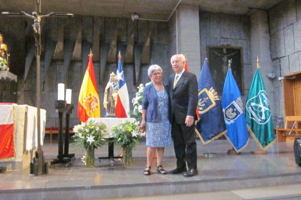 Erica Santos, Presidenta Círculo Chileno de Residentes en Madrid y  D.E. FHIS.