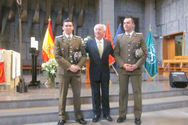 Representantes de Carabineros de Chile.