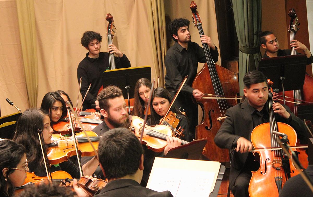 Cuarta Temporada de Orquestas Juveniles Universidad de Valparaiso