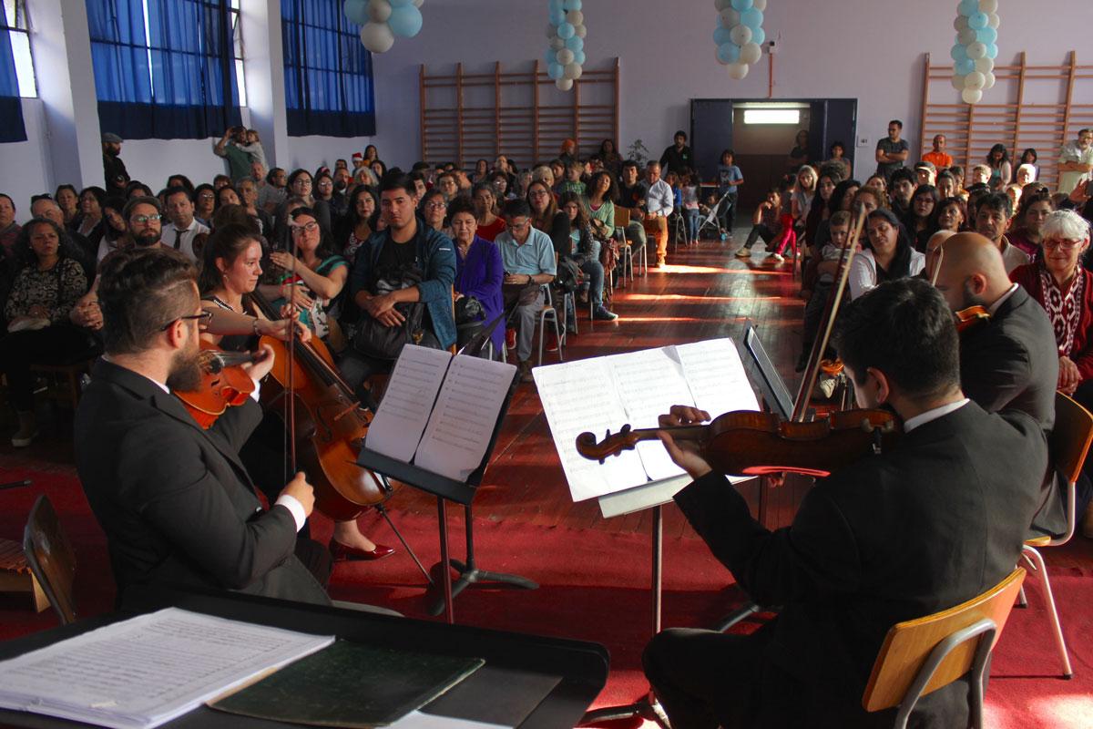 Presentación Cuarteto Hispanoamericano Jóvenes por la Música
