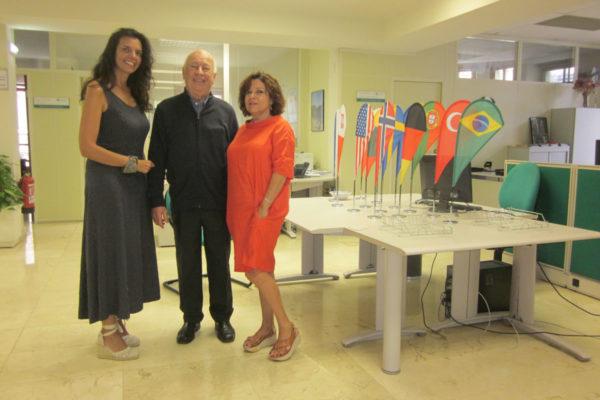 Laura Galguera García, Directora de Área de España e Iberoamérica Universidad de Oviedo. Premios Iberoamericanos, y Carmen Adams Fernández, Doctora Historia del Arte.