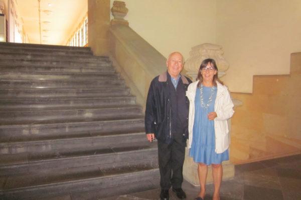 Ana Quijada, Doctora Responsable de Patrimonio Universidad de Oviedo